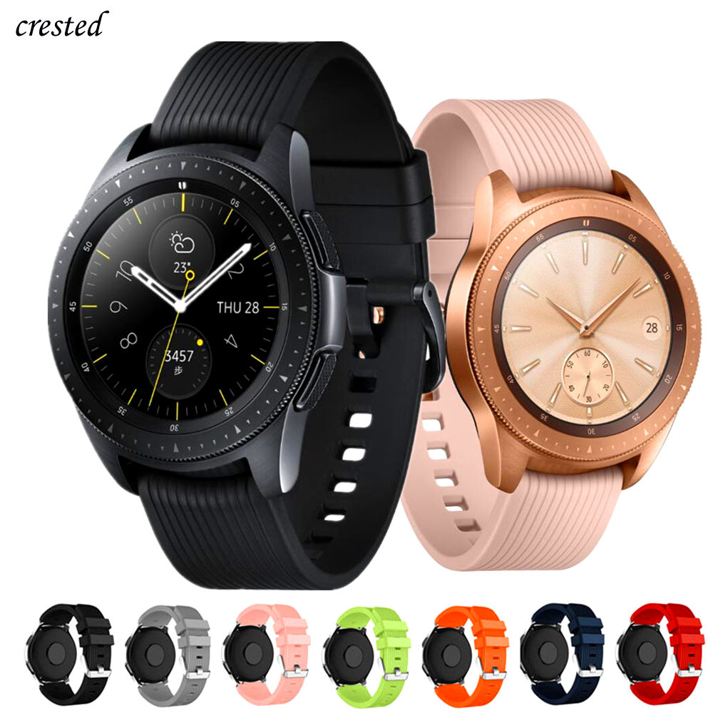 20mm Watch Strap For Samsung Galaxy Watch 42mm/active 2 Band Bracelet Silicone Watchband For Huawei Watch GT 2 42mm/Amazfit Bip
