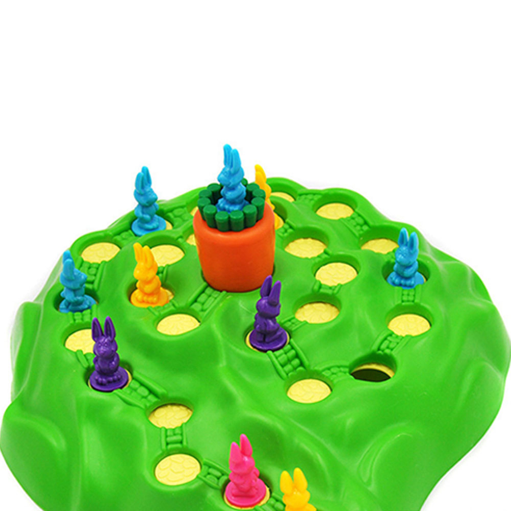 Bunny Rabbit Competitive Trap Game Play Chess Toy Children Family Fun Game Early Childhood Educational Toy For Children  40