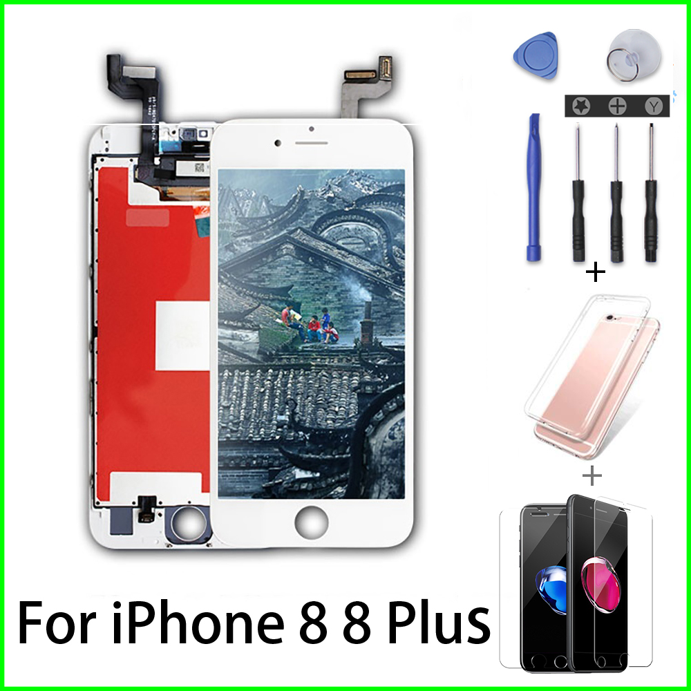 Iphone 5s Black LCD Digitizer Screen Assembly Digi Tool Kit /& Tempered Glass