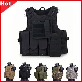 USMC CS Tactical Vest Gear Vest Plate Carrier Airsoft CQC Wargame Military Hunting Clothes Paintball Camouflage Body Armor CP usmc military airsoft paintball vest body armor molle combat plate carrier tactical vest outddor hunting clothes