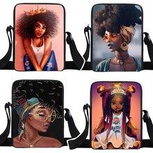 Messenger-Bag Crossbody-Bags Women Handbag Small Black Girls Mini with Crown Teenager