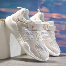 Crianças correndo tênis de verão crianças sapatos esportivos infantil menino cesta calçados leves respirável