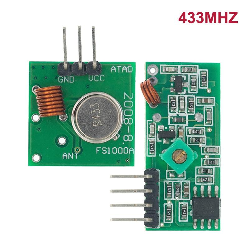Лучшие цены 10 пар (20 шт) 433 мгц радиочастотный передатчик и приемник link kit