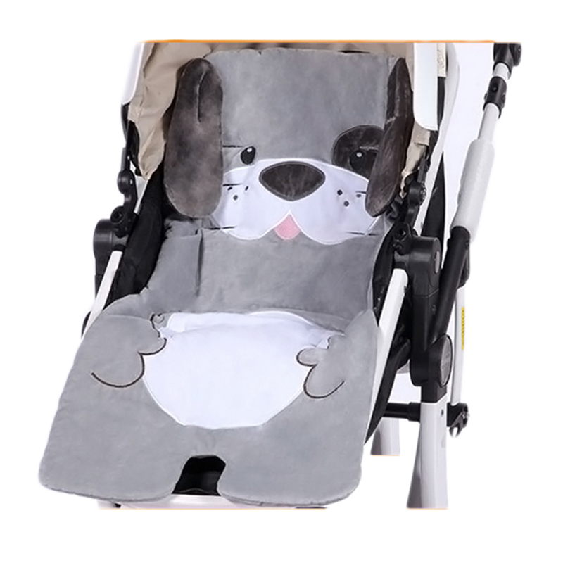 Winter Baby Stroller Mattress Pram High Chair Seat Trolley Mat Accessories Warm Velvet Pad Child Car Cushion Pushchair Liner