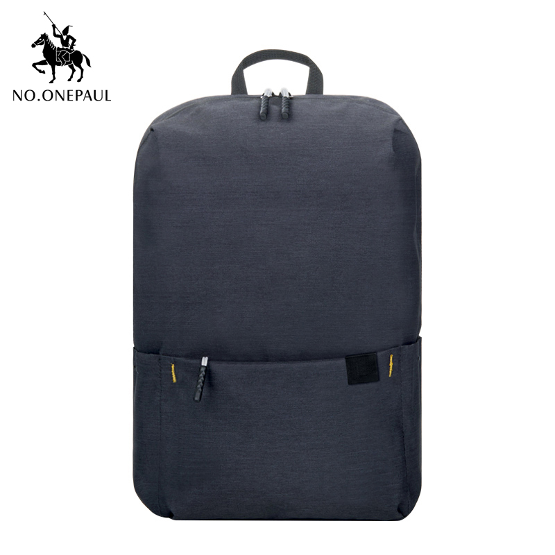 NO.ONEPAUL Best Quality Waterproof Backpack Men Backpack Fashion Laptop Backpack Travel Backpack Couple Girl Bags Free Shipping