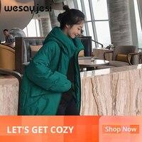 2019 women parkas jackets female coat outwear jackets winter women parka coat thicken double warm streetwear M XXL Plus Size