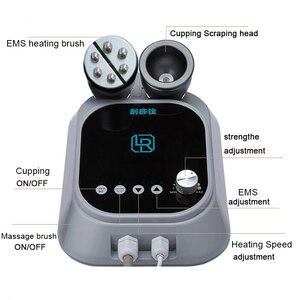 Image 2 - Machine électrique à gratter, EMS, brûleur de graisse, masseur de ventouses sous vide, Anti Cellulite, thérapie de Guasha