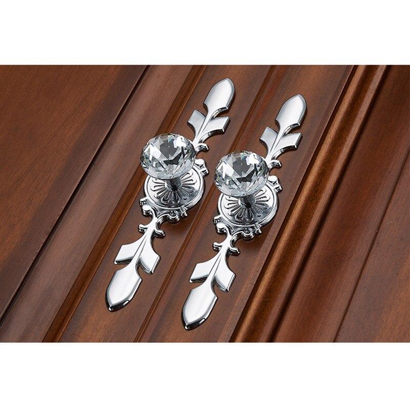 Door Knob Pull Handle Fashion Zinc Alloy For Cabinet Kitchen Wardrobe Cupboard  AC889