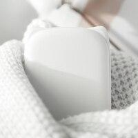 Tragbare Nette USB Aufladbare Hand Wärmer Heizung Tasche Mini Cartoon Power Bank Praktisch Heizung Wärmer Weiß-in Ofen-Handwärmer aus Heim und Garten bei