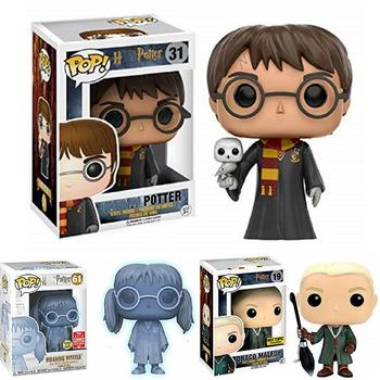 funko POP NEW Draco Malfoy Harri Potter Moaning Myrtle Limited Edition Vinyl Dolls Figure Model Toys For Children Christmas Gift