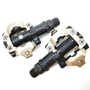 Детали для горного велосипеда MTB, велосипедные детали из хромово-молистого и алюминиевого сплава, самоблокирующиеся педали M520 с плавной кли...