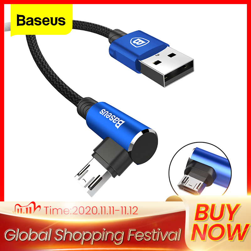 Baseus Reversible Micro USB Cable Fast Charging Charger Micro Wire Microusb Cable For Samsung Xiaomi Android Mobile Phone Cables|Mobile Phone Cables|   - AliExpress