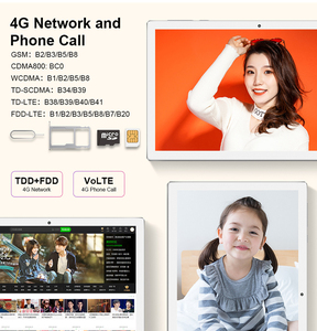 Image 4 - Teclast M30 4GB RAM 128GB ROM 10.1 Inch Tablet PC Android 8.0 2560 x 1600 MT6797 X27 Deca Core  4G Phone Tablet PC  7500mAh GPS