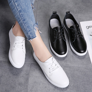 Image 5 - STQ סתיו נשים מוקסינים נעלי נשים אמיתי עור הנוודים נעלי ספורט נעליים להחליק על נשים חורף דירות הליכה נעלי 8833
