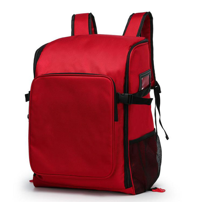 Outdoor First Aid Kit Large Capacity Sports Red Nylon Waterproof Cross Messenger Bag Family Travel Emergency Medical Bag DJJB022