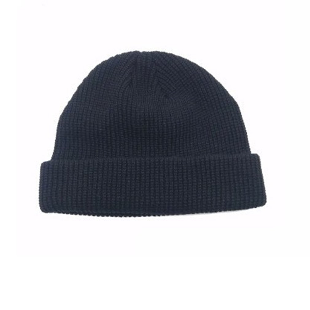 Knitted Melon Short Wool Hat Cap Dome Street Dance For Boys And Girs Hat Casual Winter Hat NEW Hair Band Accessory Free 2018