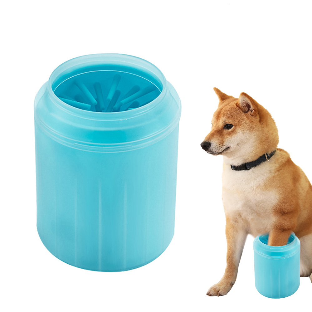 font b Pet b font Cats Dogs Foot Clean Cup for Dogs Cats Cleaning Tool