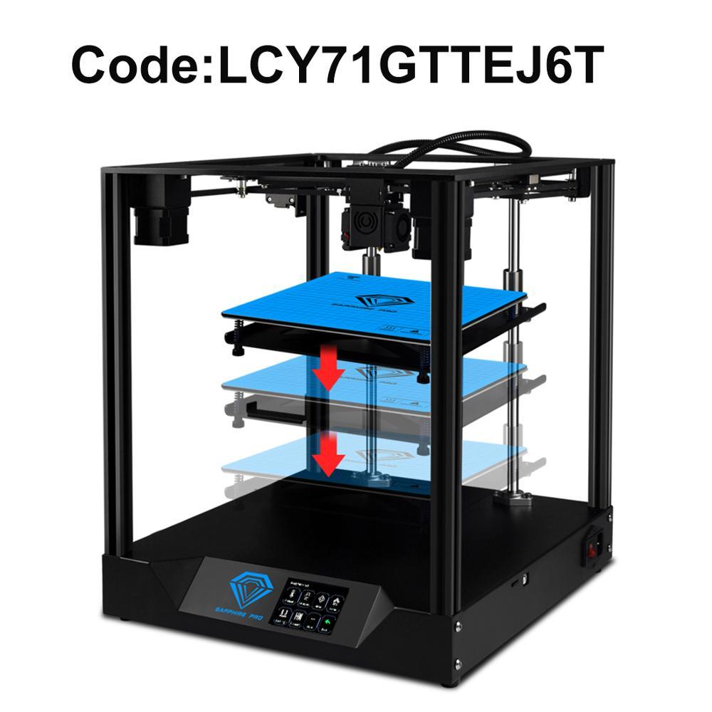 Два дерева Sapphire Pro1 3d принтер с 235x235x235 мм размер печати офисная Электроника 2020 Новое поступление вилка США/ЕС