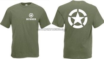 Camiseta del Ejército de los Estados Unidos, Hummer, Estrella aliada, GR, S-XXL,...