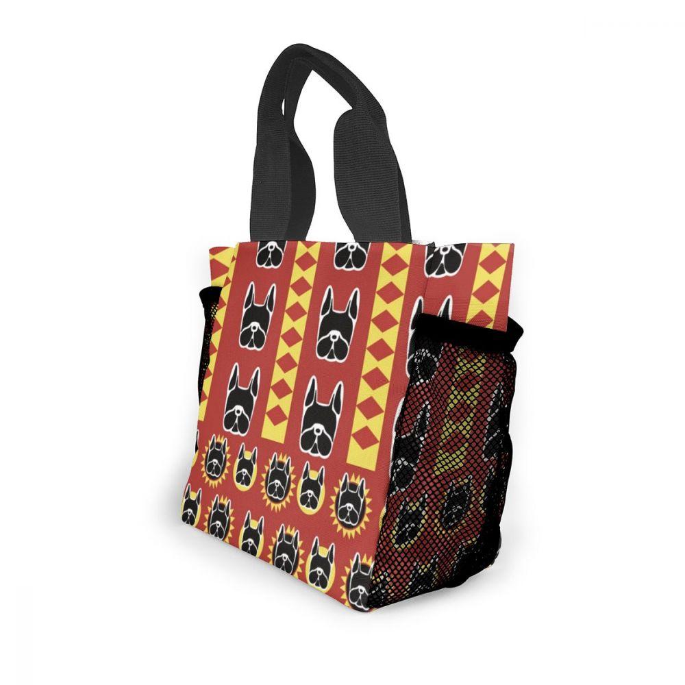 Noisydesigns mulheres casual dobrável saco de compras