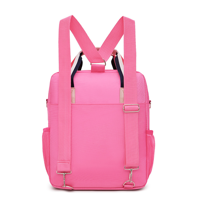 New Style Schoolbag For Elementary School Students Carry Bag Backpack Shoulder Bag Oblique Multi-Purpose Tutorial Unisex Hebei P