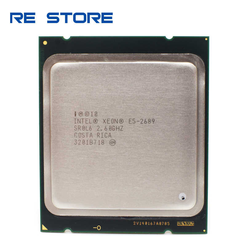 Intel Xeon E5 2689 LGA 2011 2.6GHz 8 Core 16 Thread della CPU Processore E5-2689
