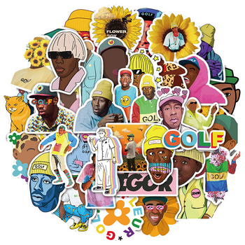 10/30/50pcs/pack America Hip hop singer Tyler The Creator Stickers For Notebook Motorcycle Skateboard Computer Mobile Phone Box - discount item  25% OFF Classic Toys