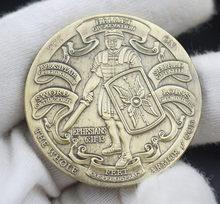 Положите на всю броню Божию монету СУВЕНИР Памятные монеты бронзовая коллекция