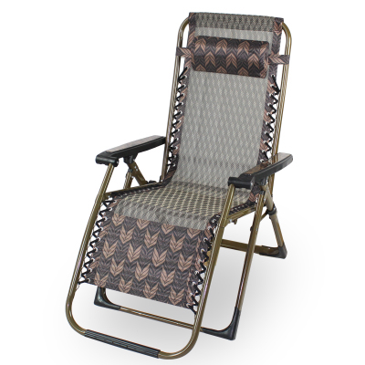 Summer Balcony Lazy Chair Office Recliner Cloth Folding Lunch Break Summer Old Man Sleeps Chair Midday Bed
