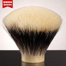 OUMO BRUSH FAN SHD Manciuria più bella a due bande pennello da barba nodi