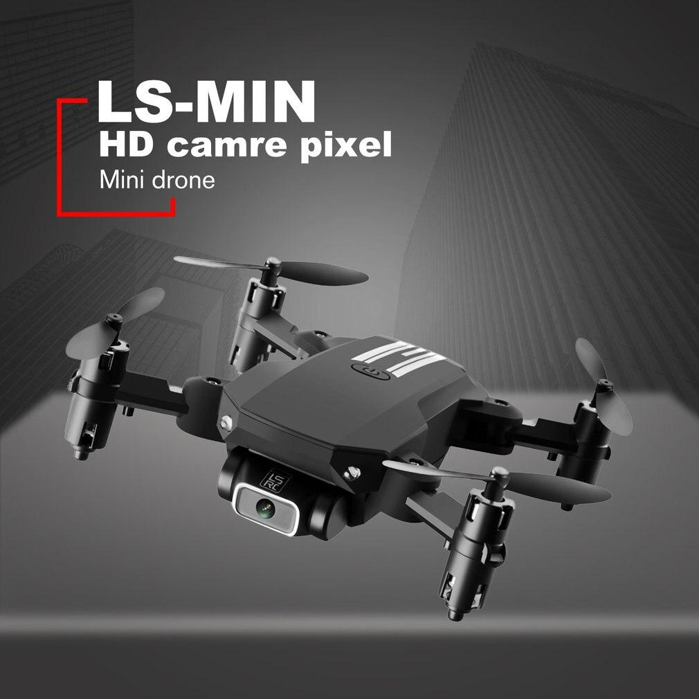 New Mini Drone 4K Pixel Dual Camera WiFi FPV Air Pressure Height Maintenance Portable Foldable Quadrotor dron Children Toy
