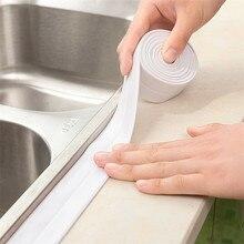 Прочный 3,2 м водонепроницаемый герметик полоса PE для ванны и душа самоклеющиеся кухня ванная комната герметик уплотнительная лента полоса Ванна