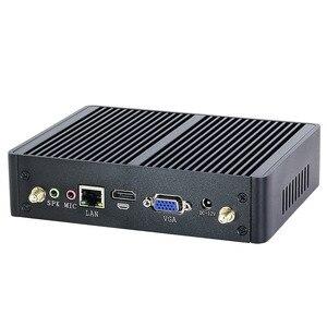 Image 5 - Tanie Intel Core i5 7200U 4210Y i3 7100U i7 5500U bez wentylatora Mini PC z systemem Windows 10 komputer PC DDR3L WiFi HDMI VGA HD Graphics 5500