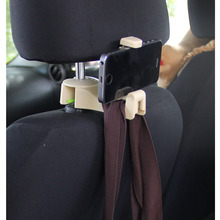 Phone-Mount-Holder Hook Seat-Back Car-Seat Support Creative-Products Multifunctional