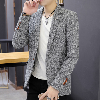 Mens Casual Dotted Blazers