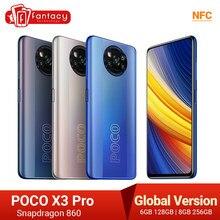 En Stock versión Global POCO X3 Pro Smartphone NFC 33W carga teléfono móvil Snapdragon 860 48MP Quad Cámara 6,67