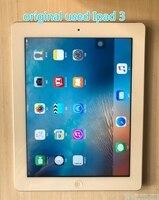 Original renovar Apple IPad 3 ipad 3th IPAD 2012 de 9,7 pulgadas Wifi versión negro de 80% nuevo