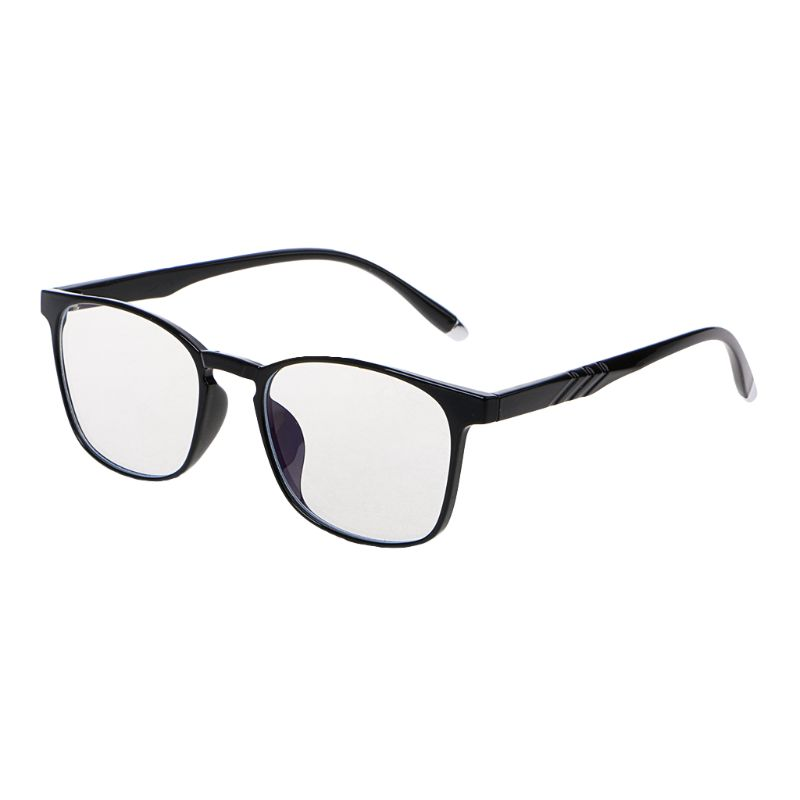 Simple Fashion Business Glasses Frame For Men TR 90 Anti Blue Rays UV 400 Protection Computer Eyeglasses