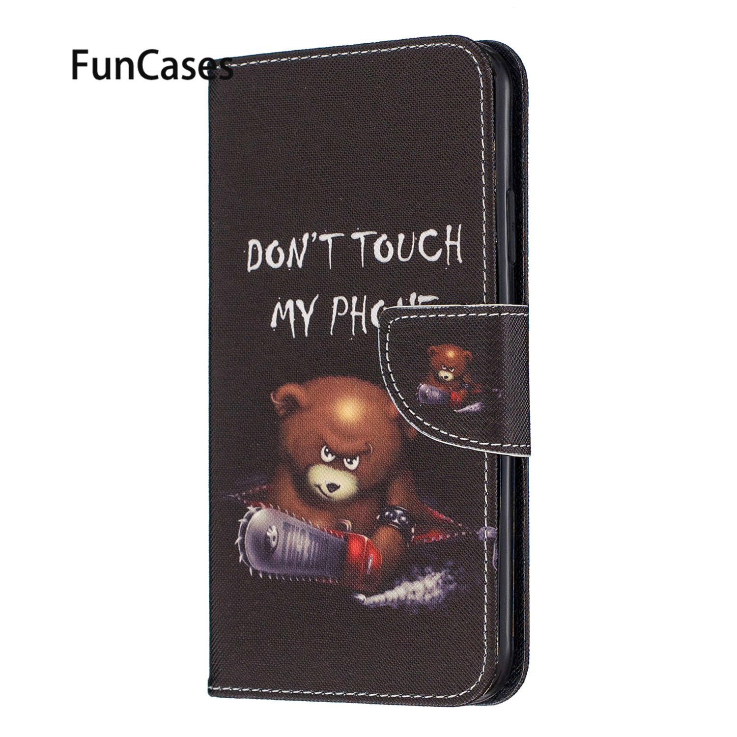 Deer Cell Phones Cases For <font><b>Samsung</b></font> A50 PU Leather Book Case sFor Cellular <font><b>Samsung</b></font> Galaxy A50S A30S A51 A40 A70 A20 <font><b>A30</b></font> A71 A10 image