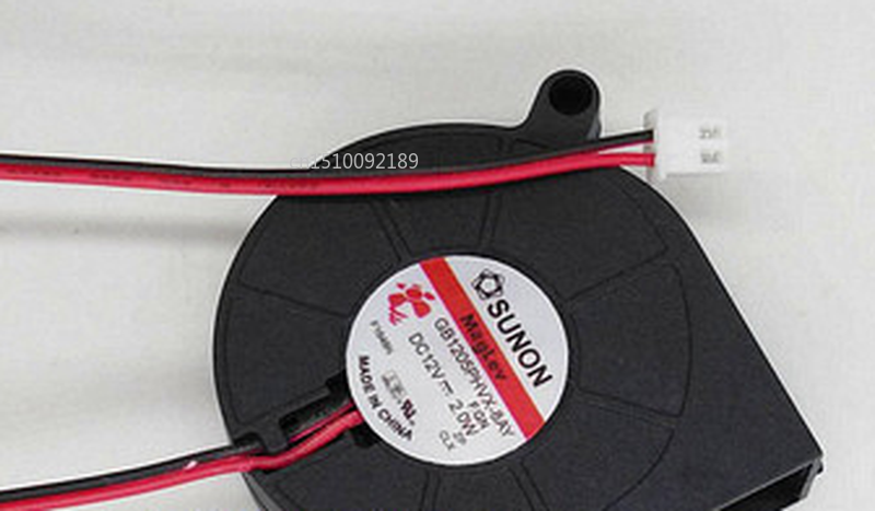 Free Shipping 5CM 5015 Blower Stage Light Dedicated Fan GB1205PHVX-8AY