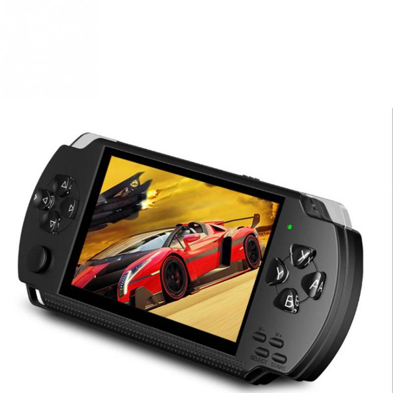 PSP כף יד קונסולת משחקי 4.3 אינץ תמיכת נגן MP5 MP4 MP3 עם מסך 8G Easy מבצע עבור משחק PSP, מצלמה, וידאו, ספר אלקטרוני (5)