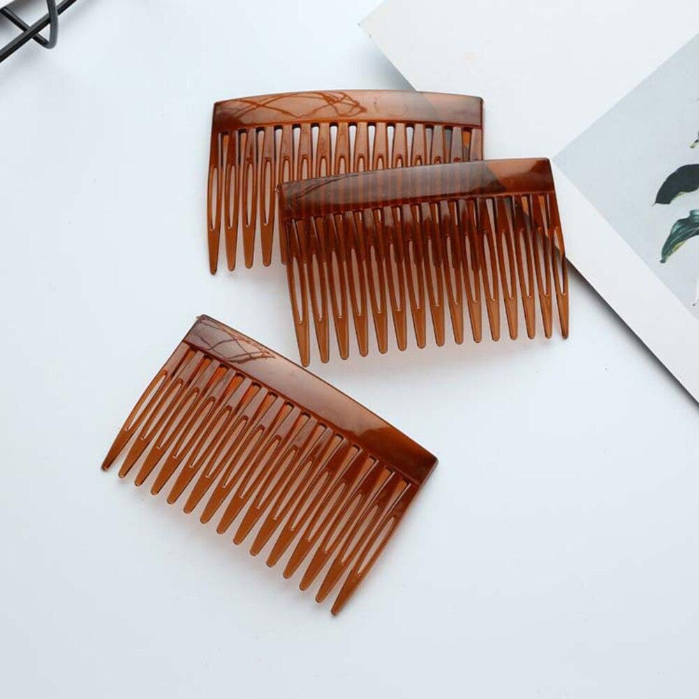 4pcs Mini Plastic Hair Combs Pins Wedding Bridal Prom Hairdress Hair Jewelry Pro Salon Women Hair Care Styling Tool