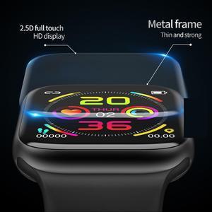 Image 5 - KARUNO inteligentny zegarek tętna Monitor ciśnienia krwi inteligentne zegarki dla Android iOS opaska monitorująca aktywność fizyczną mężczyźni kobiety poręczny inteligentny zegarek