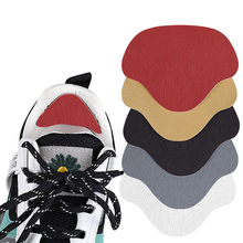 4pc Heel Protector Sneakers Repair Stickers Shoes Mesh Worn Holes Shoes Repair Patches Shoes Heel Lining Anti-wear Pads For Heel