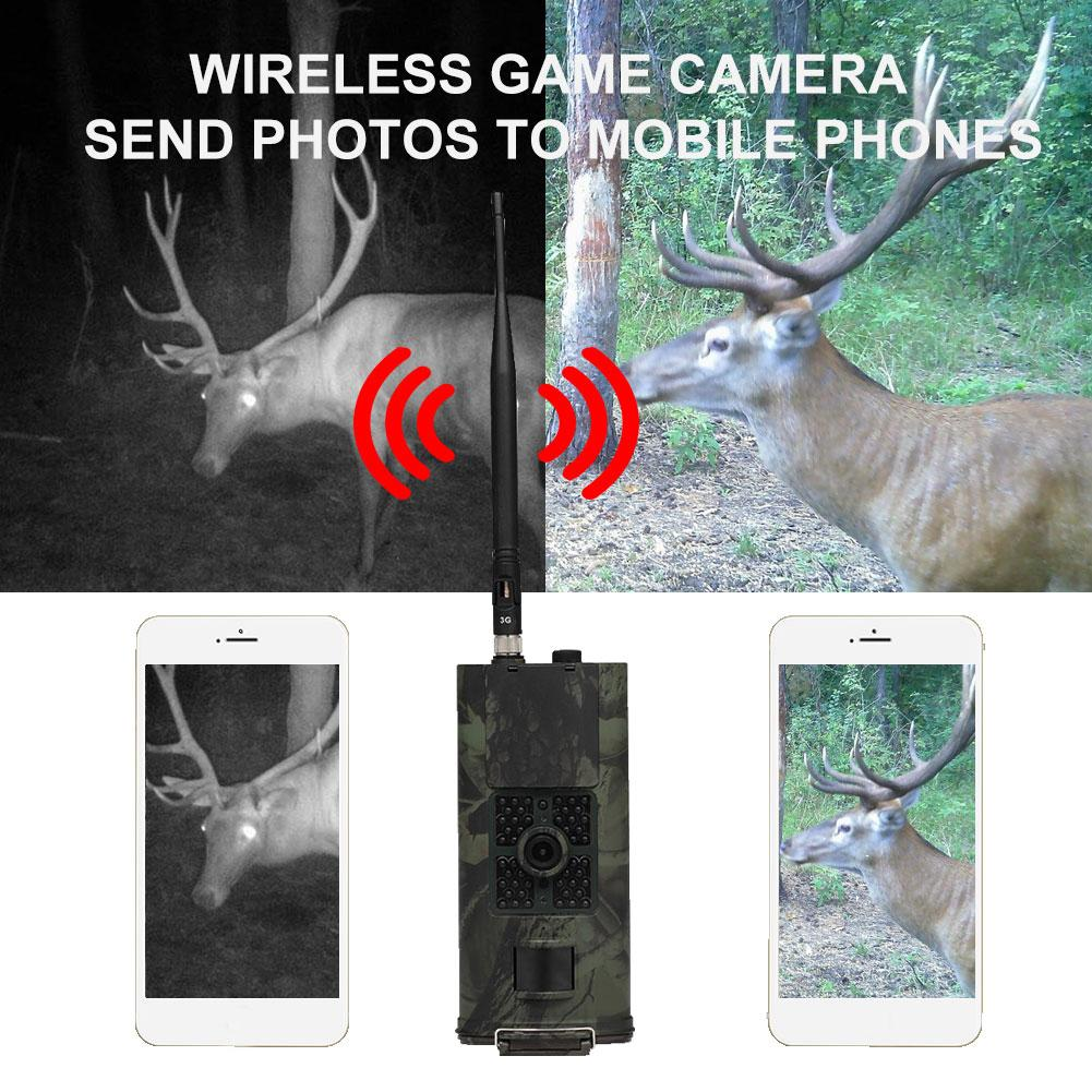 <font><b>HC</b></font>-<font><b>700G</b></font> 16MP 1080P 2G/3G MMS Trail Hunting Scouting Infrared Night Vision Camera Night Vision Camera Hunting Night Vision Camera image