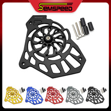 Radiator Cover For YAMAHA NMAX 155 NMAX 125 NMAX 150 2015-2019 2020 SEMSPEED Motorcycle CNC Fan Cover Grille Guard Protection