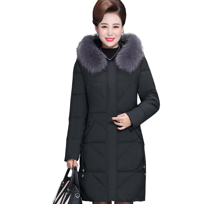 7XL 8XL Winter Jacket Women   Parkas   Loose Warm Down Cotton Coat Female Thick Long Sleeve Oversize Winter Women Coat Padded Q1972