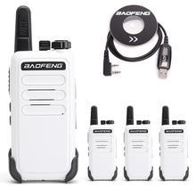 4 PCS BF C9 Portátil Mini Walkie Talkie VOX Baofeng bf 888s Rádio Em Dois Sentidos Da Estação de Carregamento USB Do Hotel Com Programação Usb cabo