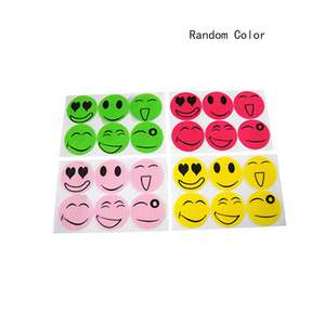 Stickers Mosquito-Repellent Summer Cartoon Face Buckle Smiley