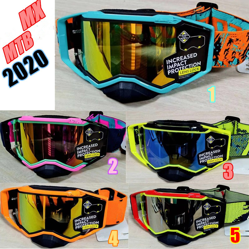 NEW 2020 Motocross Goggles MX MTB Glasses Off Road Dirt Bike Motorcycle Helmets Goggles Ski Sport Glasses Mountain Bike Goggles